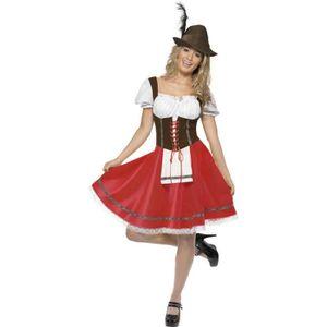 Smiffys Costume Oktoberfest robe avec tablier int/égr/é femme
