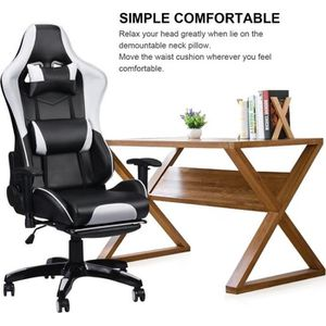 CHAISE Champion® Fauteuil gamer Chaise gaming avec repose