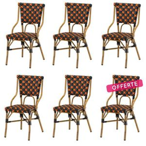 Chaise Bistrot Alu