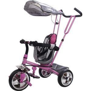 TRICYCLE Tricycle évolutif enfant Super Triker   Rose.