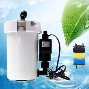 FILTRATION - POMPE MEI 400L/h Pompe Aquarium Filtre Coton Externe Pr