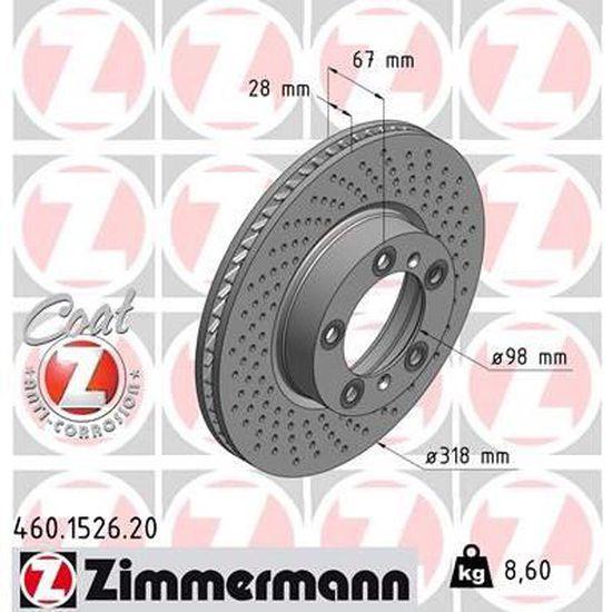 17071 Disque de frein - A.B.S 2 pièces