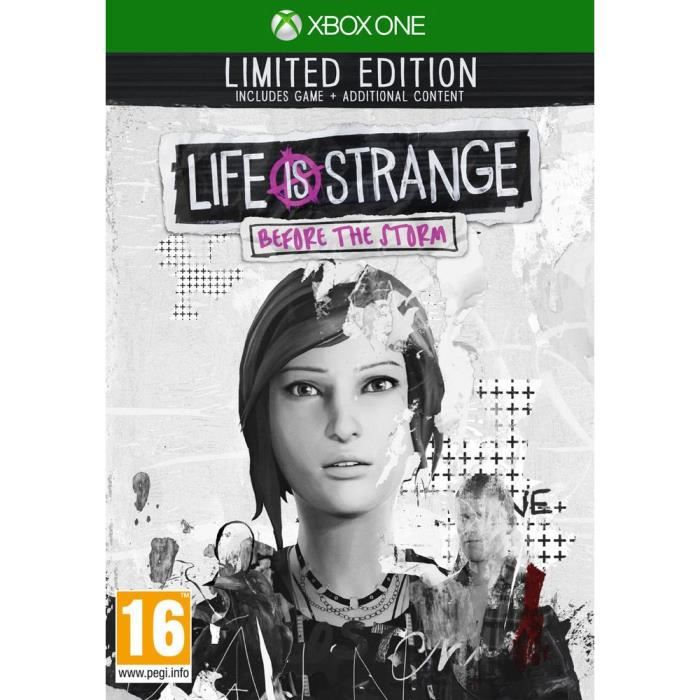 Life is Strange Before the Storm Edition Limitée Jeu Xbox One