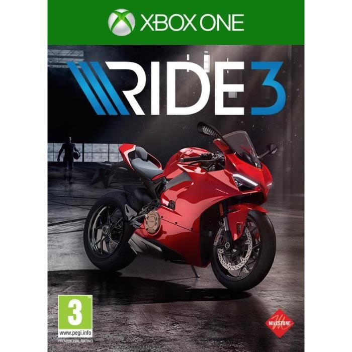 JEU XBOX ONE Ride 3 Jeu Xbox One