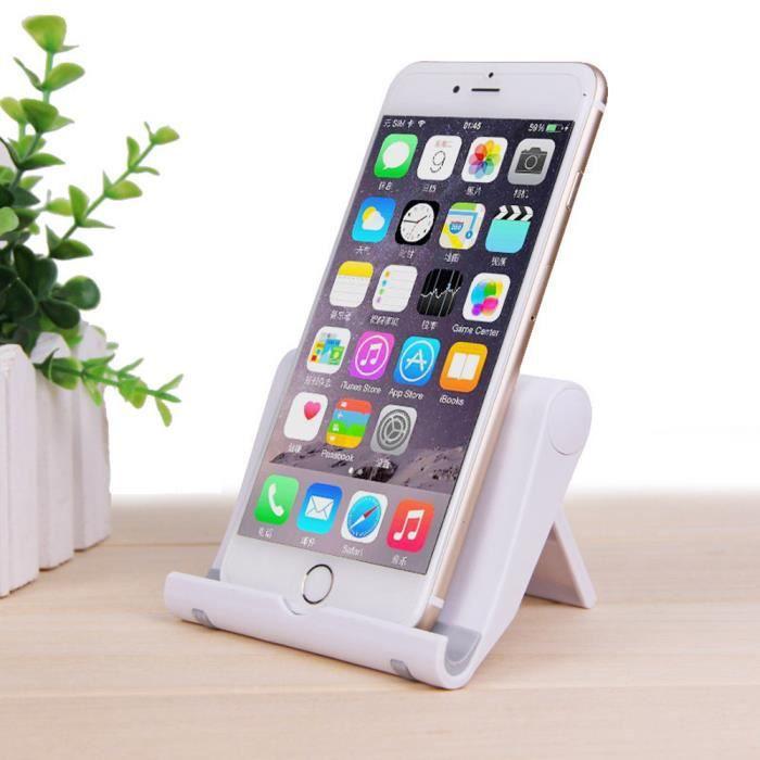 Support de support de berceau universel pour bureau de lit pour téléphone iPad Table WH sunnyer 2471