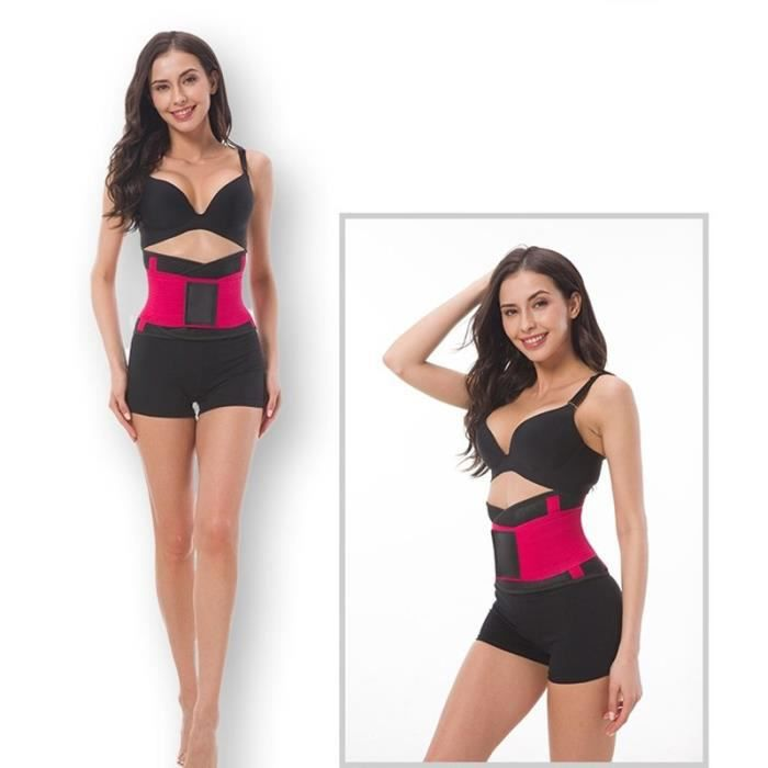 DoringIN-Ceinture de Force Ceinture corset,Rose1 100*23cm.Ceinture lombaire, soutien dorsal inférieur Ceinture-Pour Fitness Sports