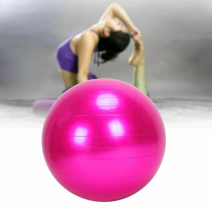 BALLON SUISSE - GYM BALL - SWISS BALL 65Cm Exercice GYM Ball Fitness Core Grossesse Accouchement Anti Burst YIF91011663PK_118