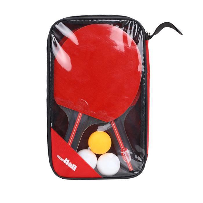 Raquette De Ping Pong+3 Balle
