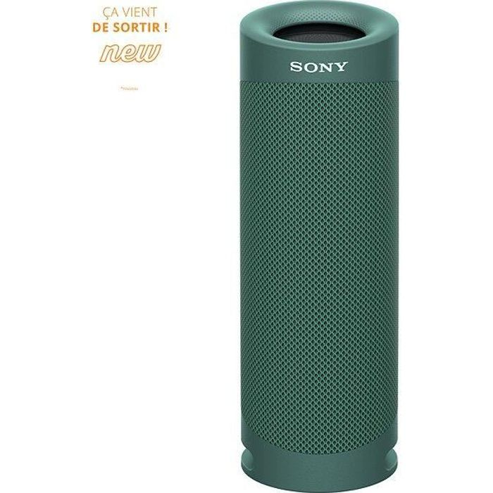 SONY SRSXB23G Enceinte Bluetooth - Autonomie 12h - Splash proof - Vert