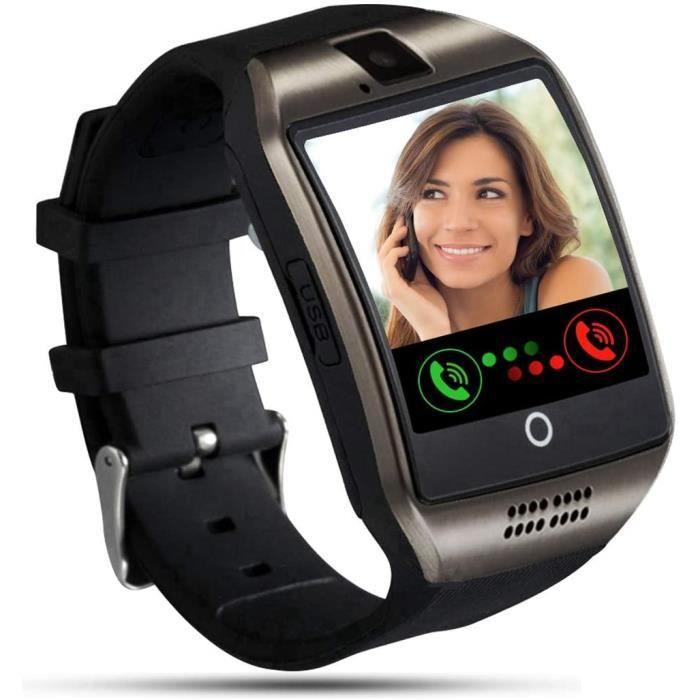 Tipmant Montre Connectée Femmes Homme Enfant Montre Connectee avec Carte SIM Caméra Podomètre Chronometre Montre Sport Bracele93