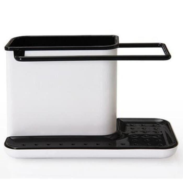 Boîte de cuisine en éponge égouttoir à égouttoir pour égouttoir d'évier de rangement pour organisateur de cuisine stands d'ustensile