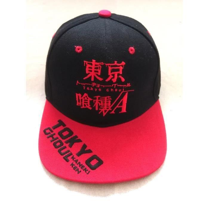 Une pièce Anime Tony Tony Chopper casquettes de Baseball Tokyo Ghoul Hip Hop chapeaux hommes femmes Tokyo Ghoul Adjustable