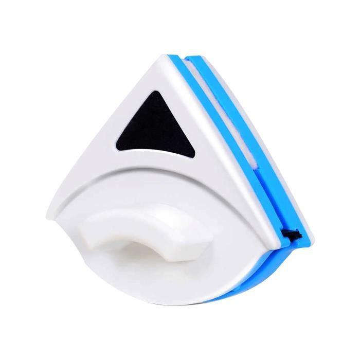 Nettoyeur De Vitres En Éponge D'Outil Nettoyage Magnétique Double Face D'Essuie-Glace Surface Verre b5418