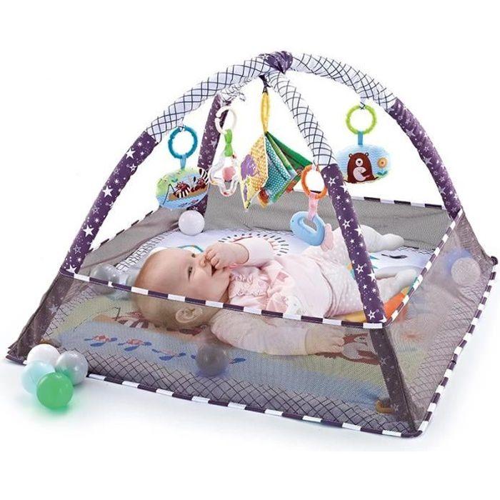 Tapis à ramper pour bébé garçon et fille, clôture multifonctionnelle, tapis à ramper, jouets d'éveil pour enfant de 0 à 18 mois