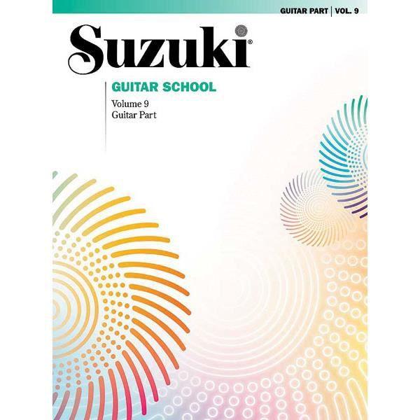 Suzuki Guitar School Guitar Part, Volume 9, de William Kanengiser,Scott Tennant - Recueil pour Guitare ou Luth