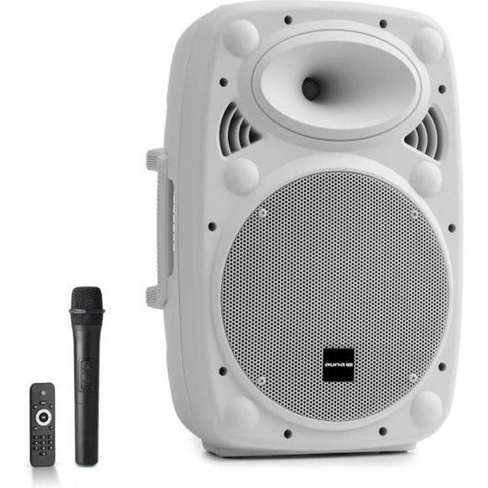 Auna Pro Streetstar 10 Pack sono DJ : enceinte amplifiée portable 10- - Bluetooth USB SD MP3 AUX + micro - 400W