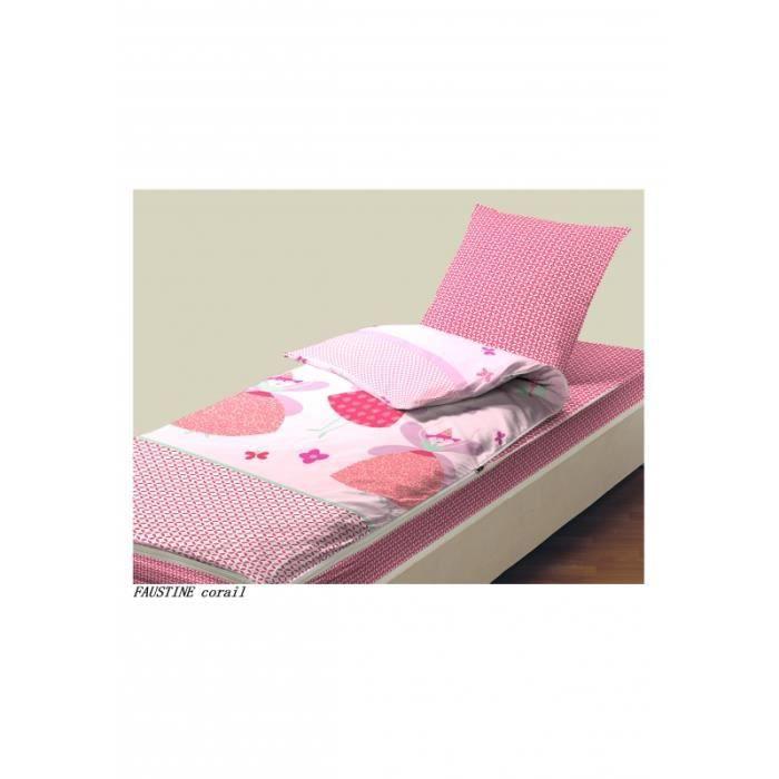 Kit de couchage caradou pour lit 1 place Faustine