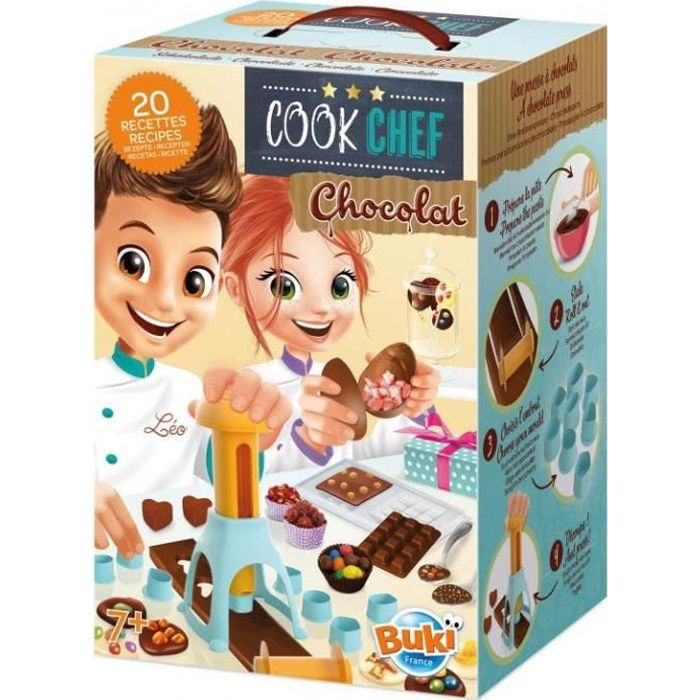 BUKI FRANCE Cook chef Chocolaterie