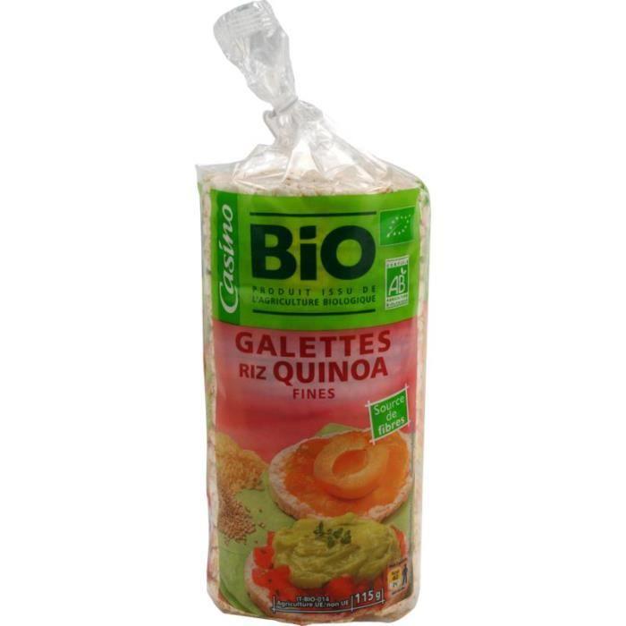 Galettes de riz quinoa - 115 g