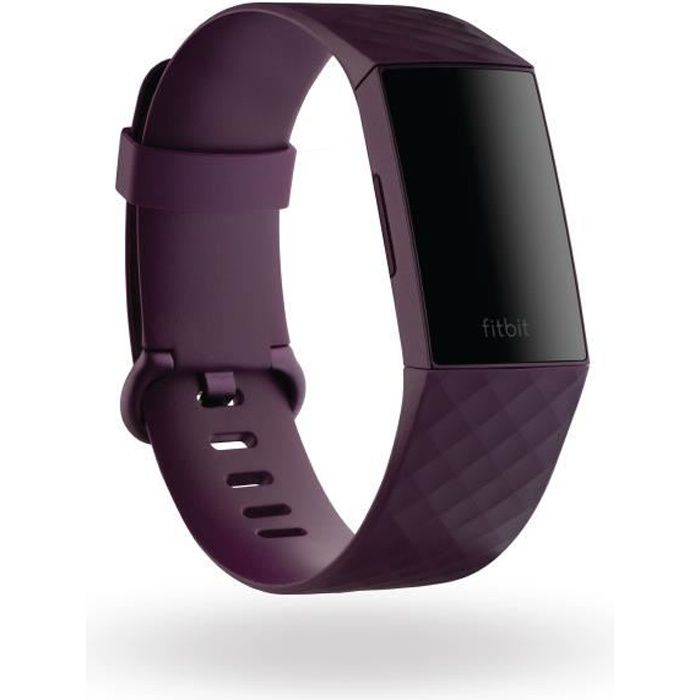FITBIT Charge 4 - Bracelet connecté (NFC) - Rosewood
