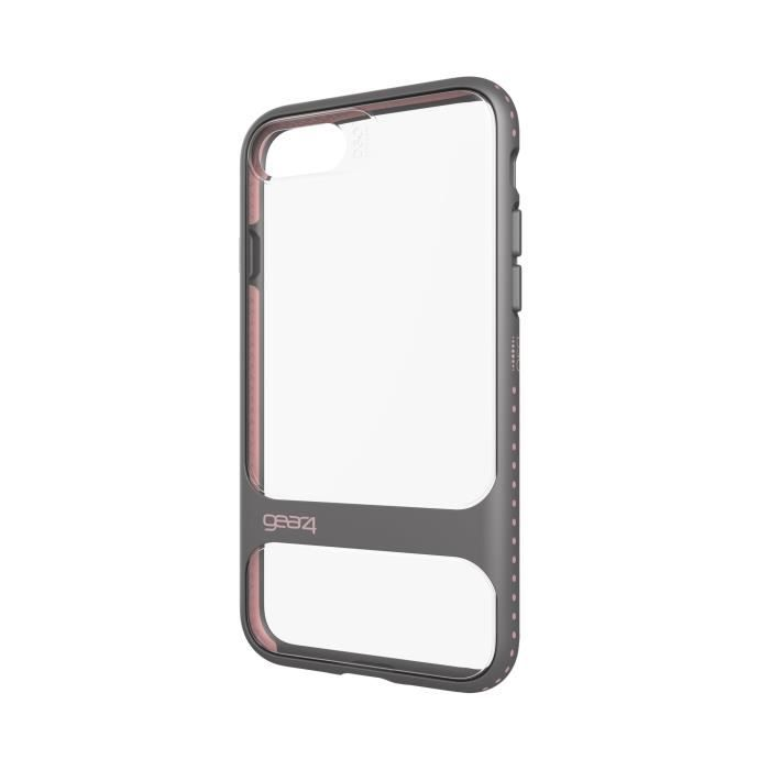 GEAR4 D3O Soho Coque - iPhone 7 - Argent Rose