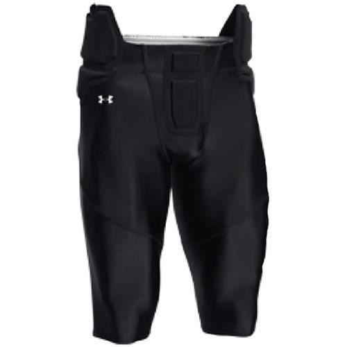 Pantalon de Football Américain Under armour tout intégré Noir pour homme