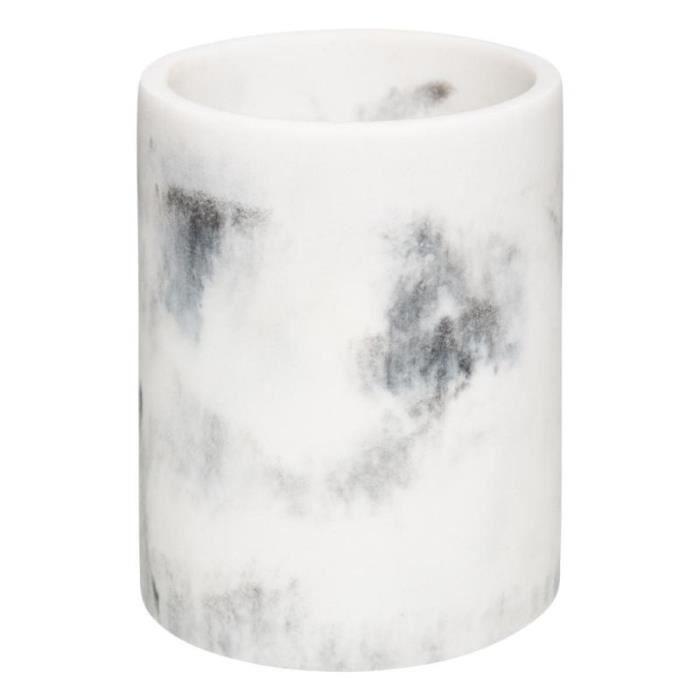 Pot à Ustensiles Design -Geom Hygge- 13cm Blanc