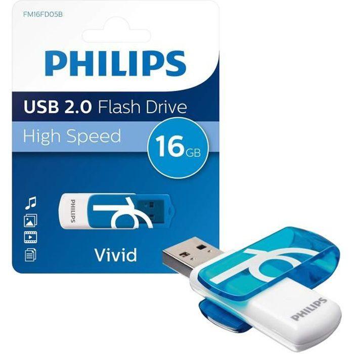 PHILIPS Clé USB Vivid 16 Go USB 2.0