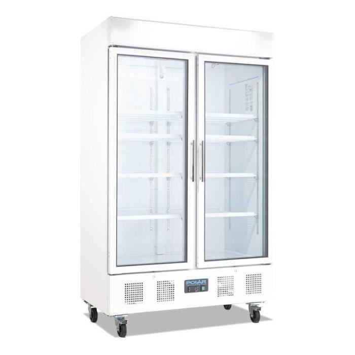 Vitrine réfrigérée 2 portes 944L Polar