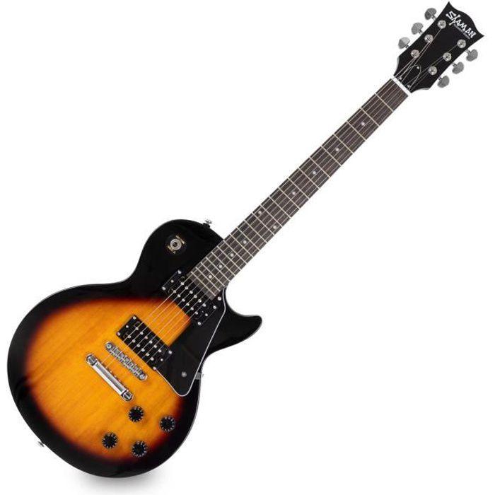 Shaman Element Series SCX-100VS guitare électrique vintage sunburst