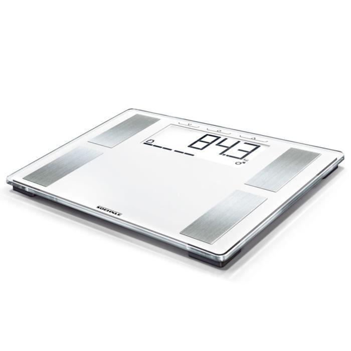 Soehnle Pèse-personne Shape Sense Profi 100 Blanc 180 kg 63868