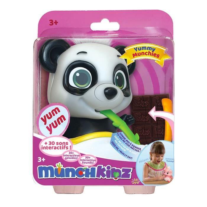 SPLASH-TOYS - figurine interactive Panda gourmand et rigolo - Munchkinz