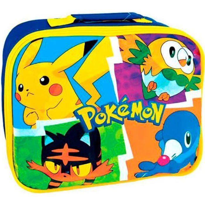 Sac à Goûter Repas Lunch Isotherme Pokémon Pikachu
