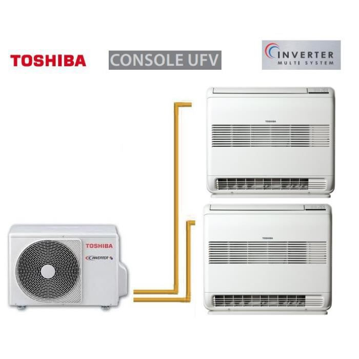 toshiba console ufv bi split ras m18uav e 2 r achat. Black Bedroom Furniture Sets. Home Design Ideas