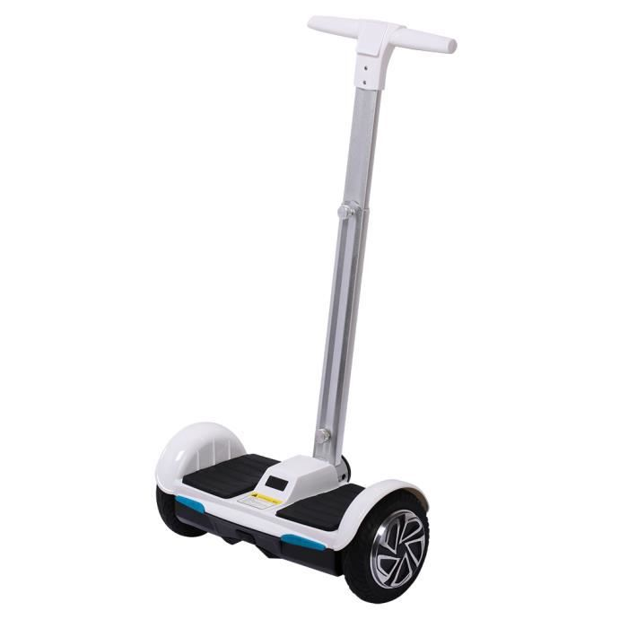 scooter lectrique auto quilibrage blanc 700w 2x350w moteurs 4400mah batterie rechargeable. Black Bedroom Furniture Sets. Home Design Ideas
