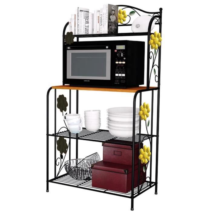 etag re micro ondes meuble de rangement cuisine casier m tal achat vente meuble tag re. Black Bedroom Furniture Sets. Home Design Ideas