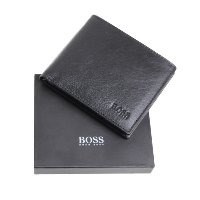 portefeuille hugo boss noir homme achat vente. Black Bedroom Furniture Sets. Home Design Ideas