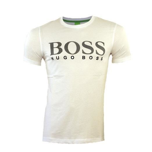 tee shirt hugo boss homme 50236203 blanc blanc achat vente t shirt cdiscount. Black Bedroom Furniture Sets. Home Design Ideas