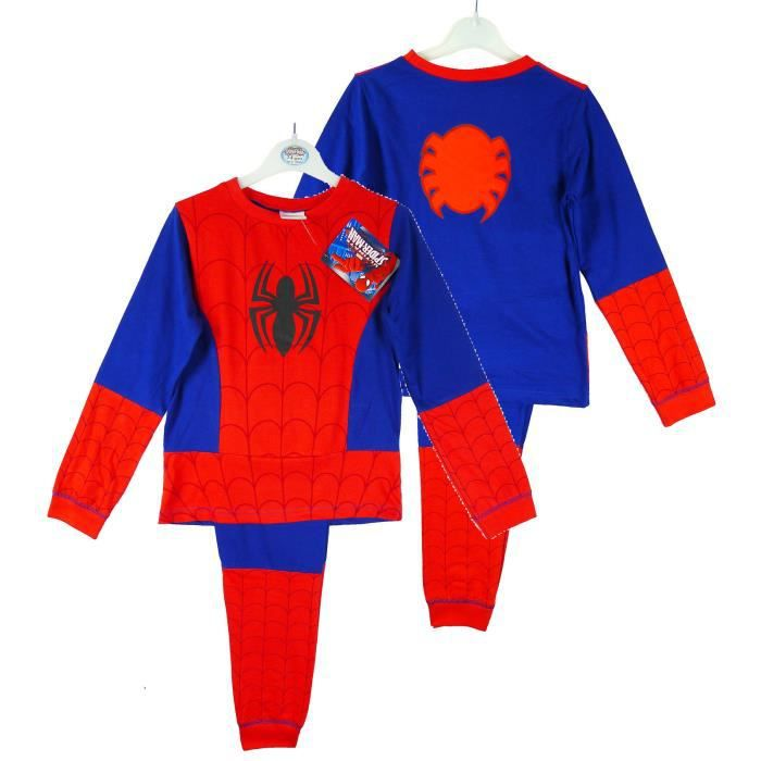 pyjama d guisement spiderman enfant gar on rouge achat. Black Bedroom Furniture Sets. Home Design Ideas