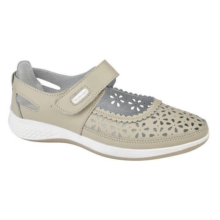 BASKET Boulevard - Chaussures ouvertes perforés (pied lar