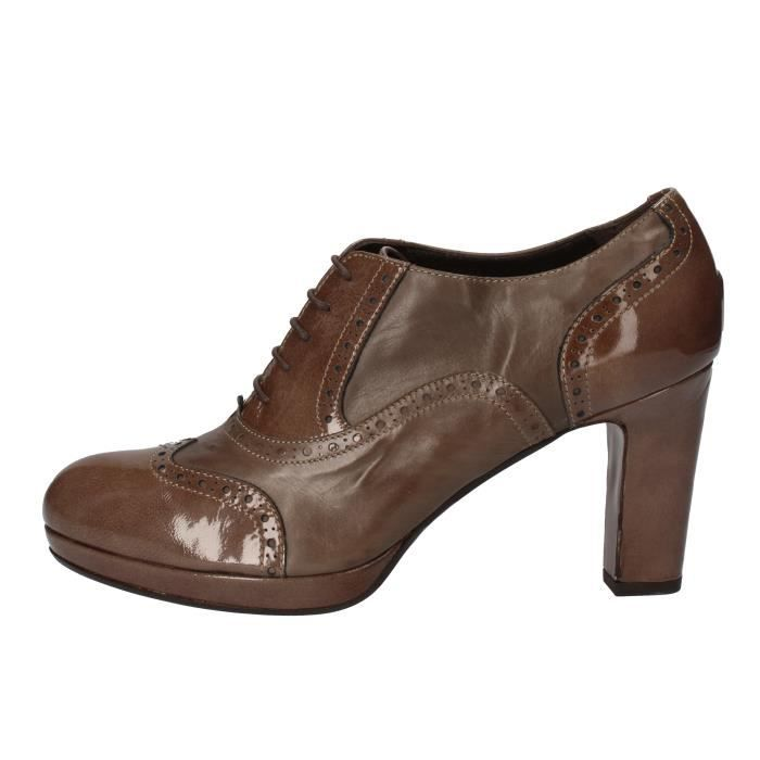 Marron Femme Cuir Femme Bottine Marron Cuir Calpierre Calpierre Bottine Cuir qBxFYq4
