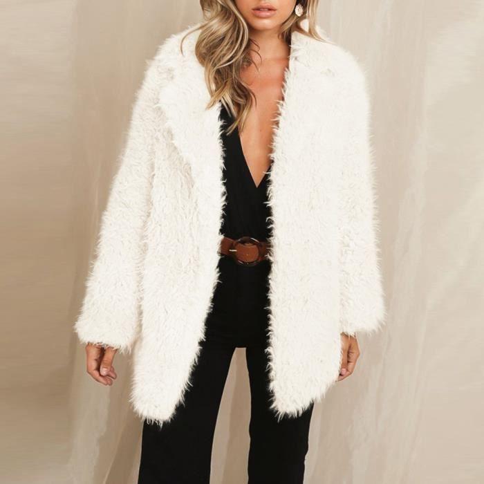 Nounours Ours Femme Manteau Polaire Grande Taille Hiver Chaud Cardigan Vêtement