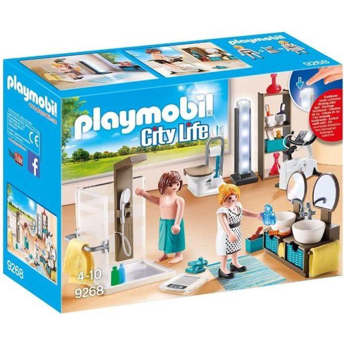 UNIVERS MINIATURE PLAYMOBIL 9268 - City Life - La Maison Moderne - S