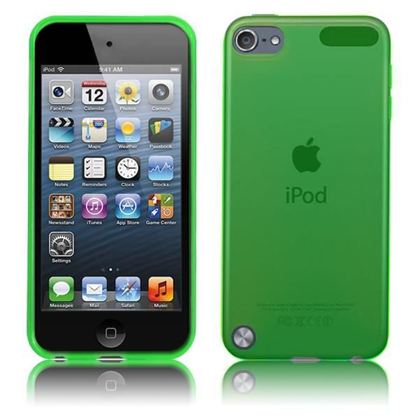 coque ultra fine pour apple ipod touch 5 en vert achat. Black Bedroom Furniture Sets. Home Design Ideas
