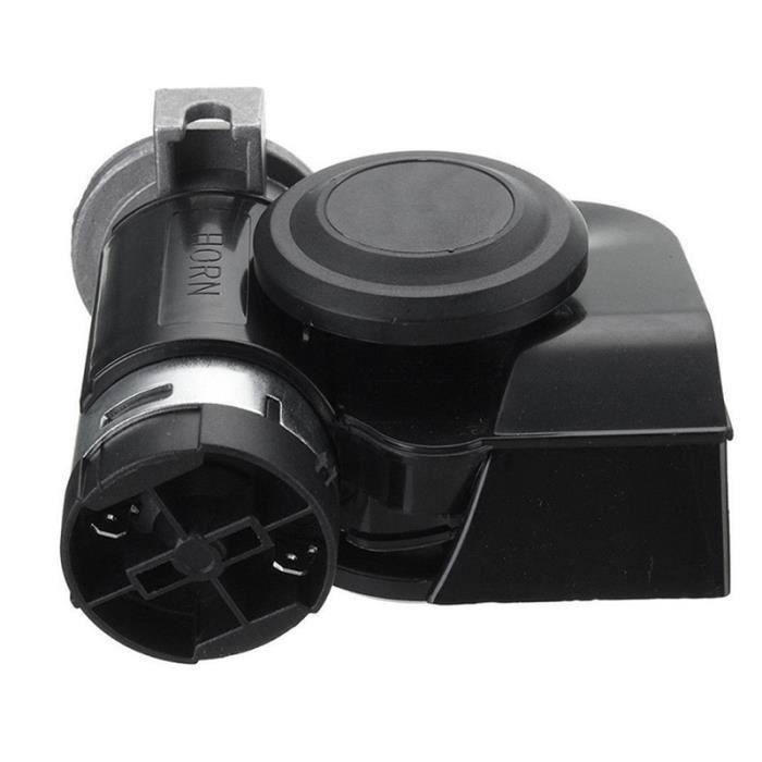 Klaxon dair haut-parleur de klaxon fort de double de klaxon de lair 150dB universel de 12V 24V pour le bateau de train de voiture