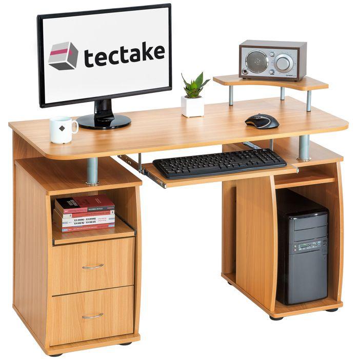 MEUBLE INFORMATIQUE TECTAKE Bureau Design Informatique pour Ordinateur