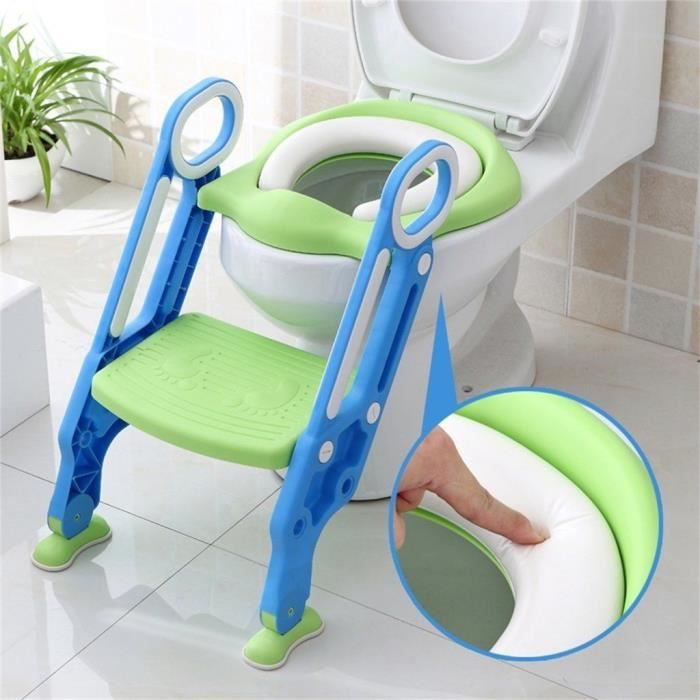 Educteur De Toilette Pot Dapprentissage B/éb/é Toilette Pour Chaise B/éb/é Enfants Bebe (Rose//Bleu )