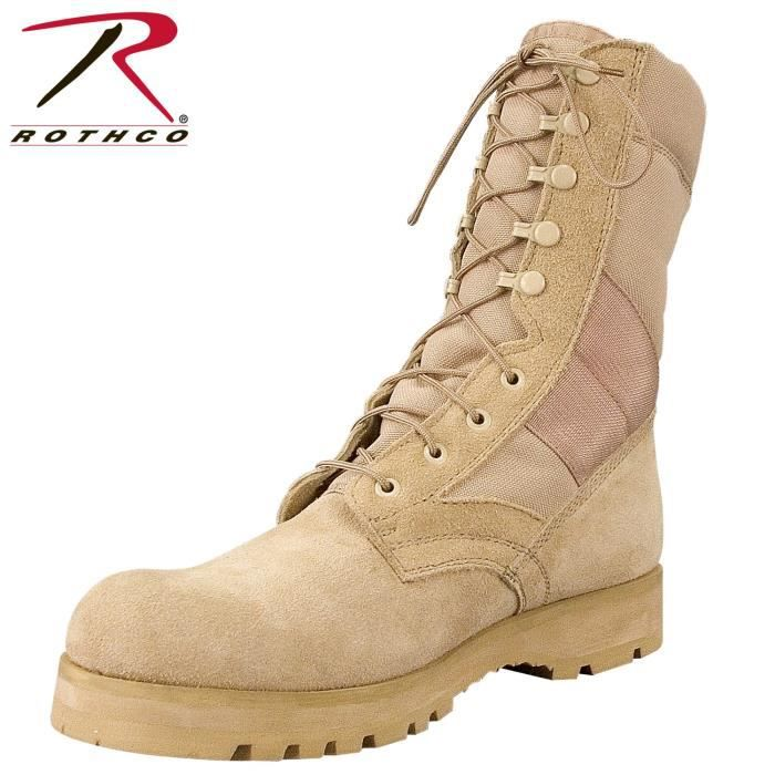 42 Boot Tan Desert Taille Sole 8
