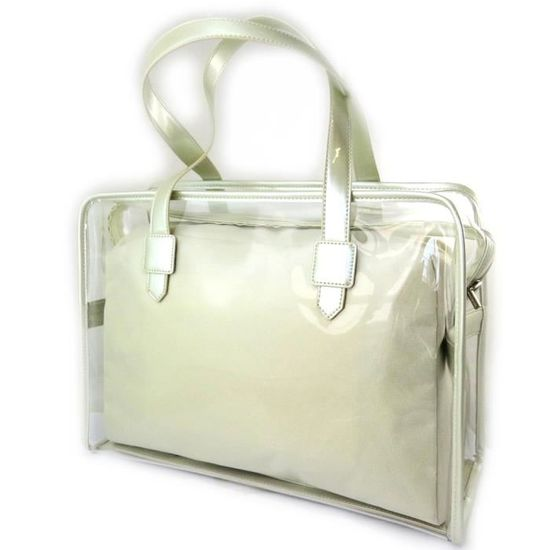 Jacques ESTEREL [N4968] - Sac 'Jacques Esterel' beige