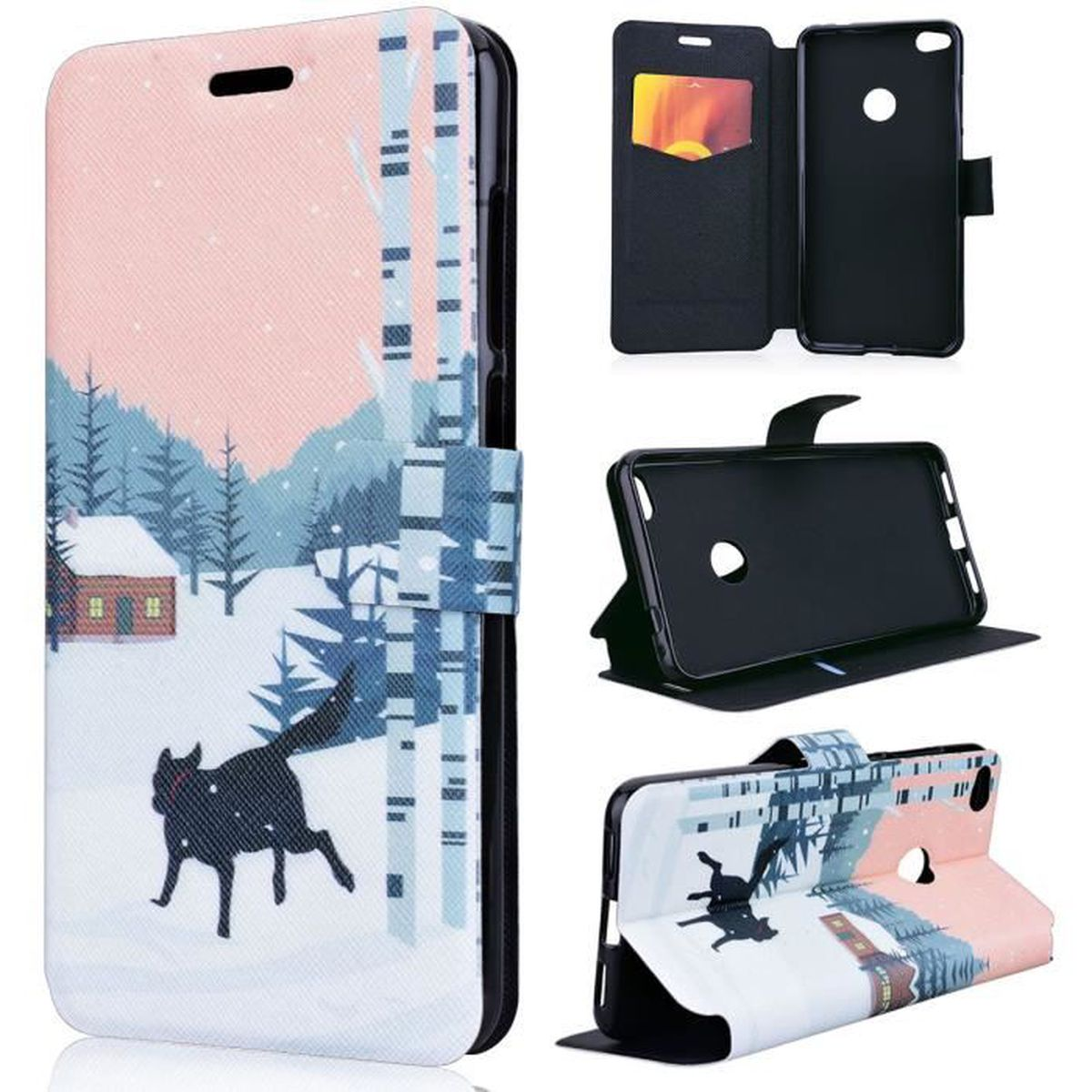coque huawei p8 lite 2017 wolf